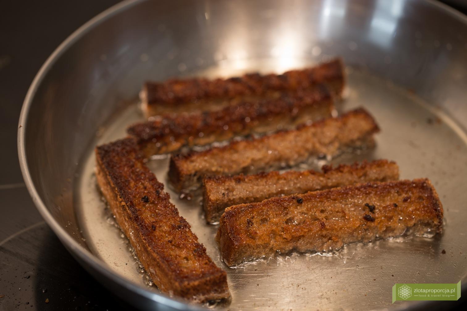 Czosnkowe paluszki chlebowe, przekąska do chleba po litewsku
