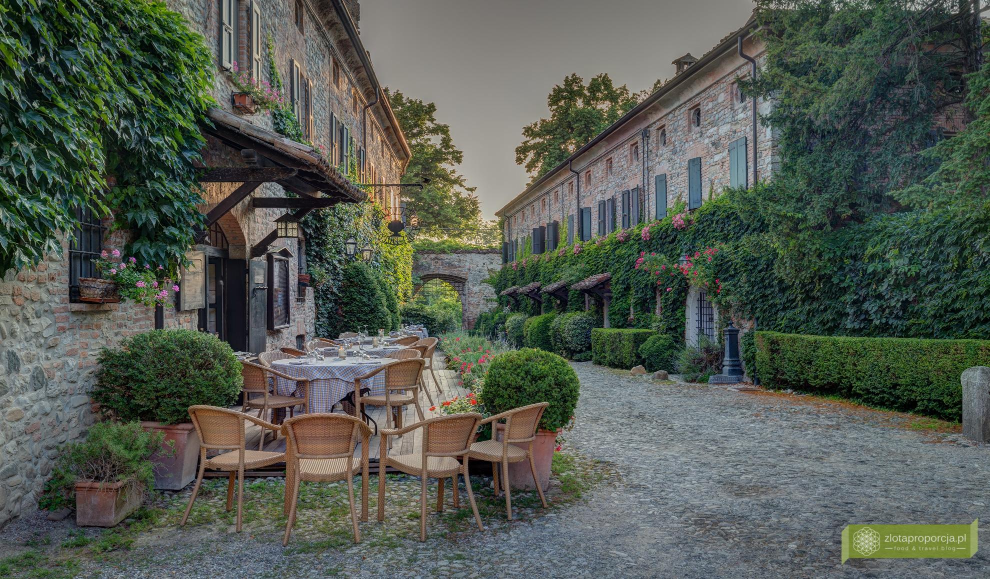 Castello di Rivalta, zamek, Piacenza, Emilia Romania