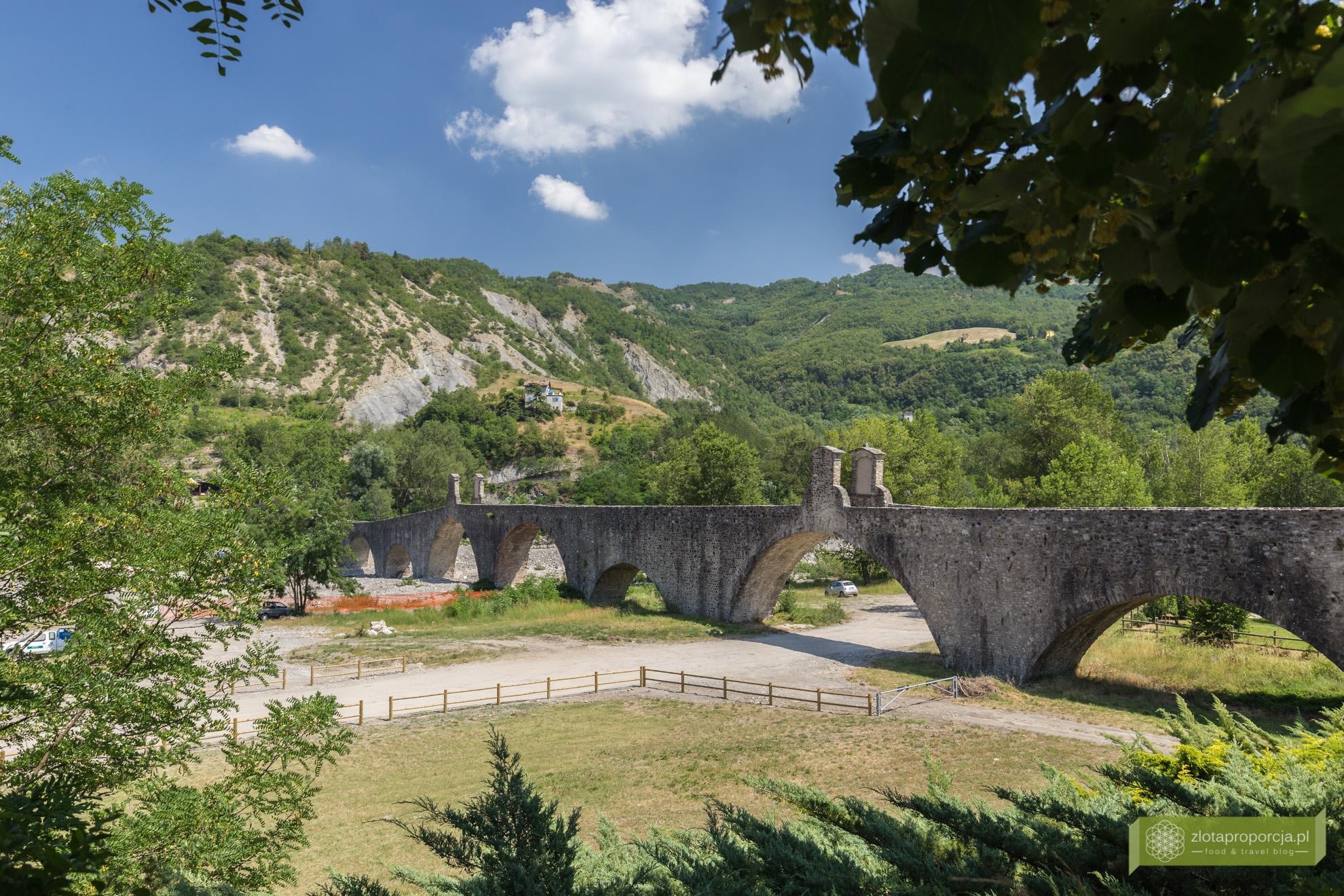 Bobbio, Ponte Gobbo, zamek, Piacenza, Emilia Romania