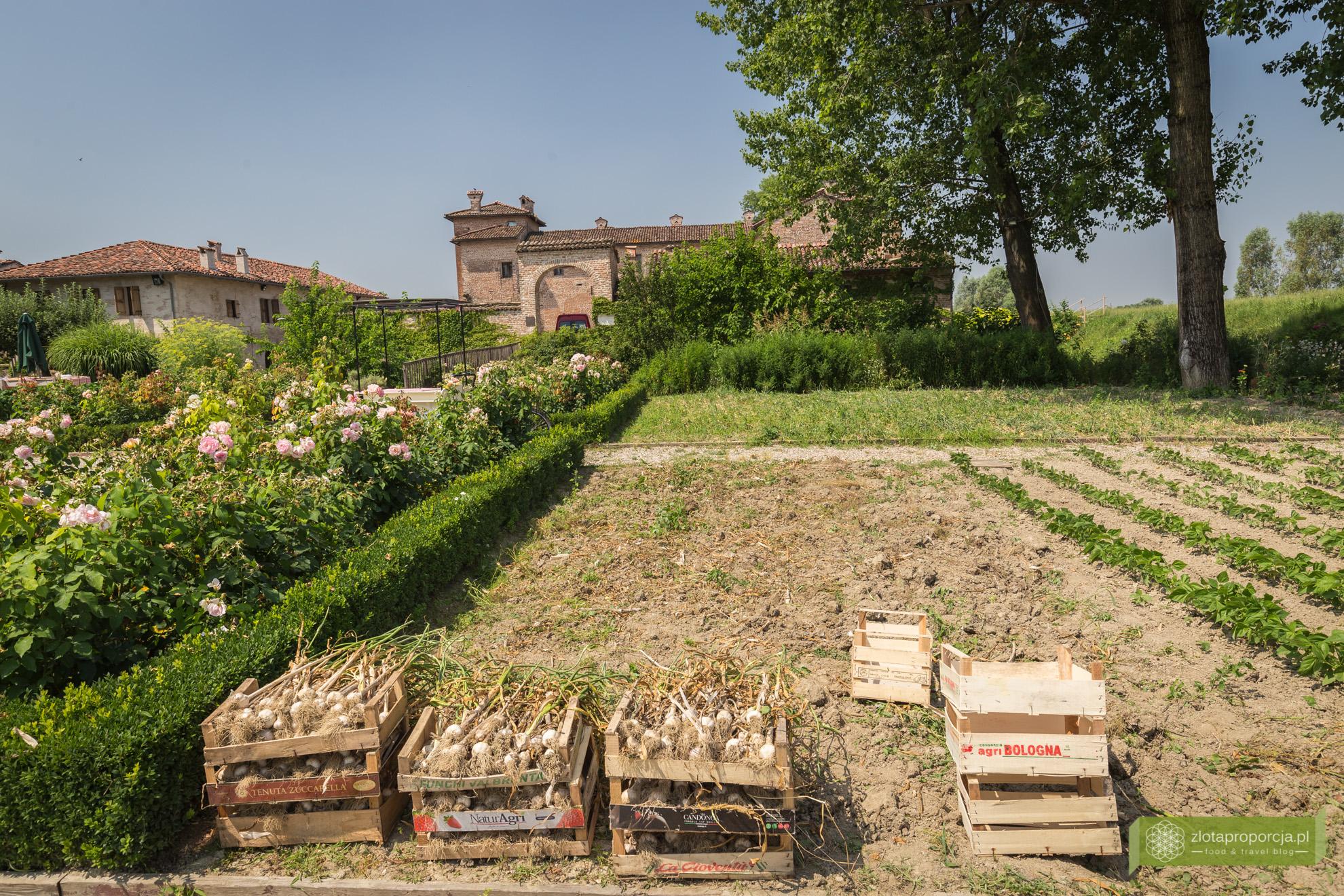 Antica Corte Pallavicina, zamek, Piacenza, Emilia Romania