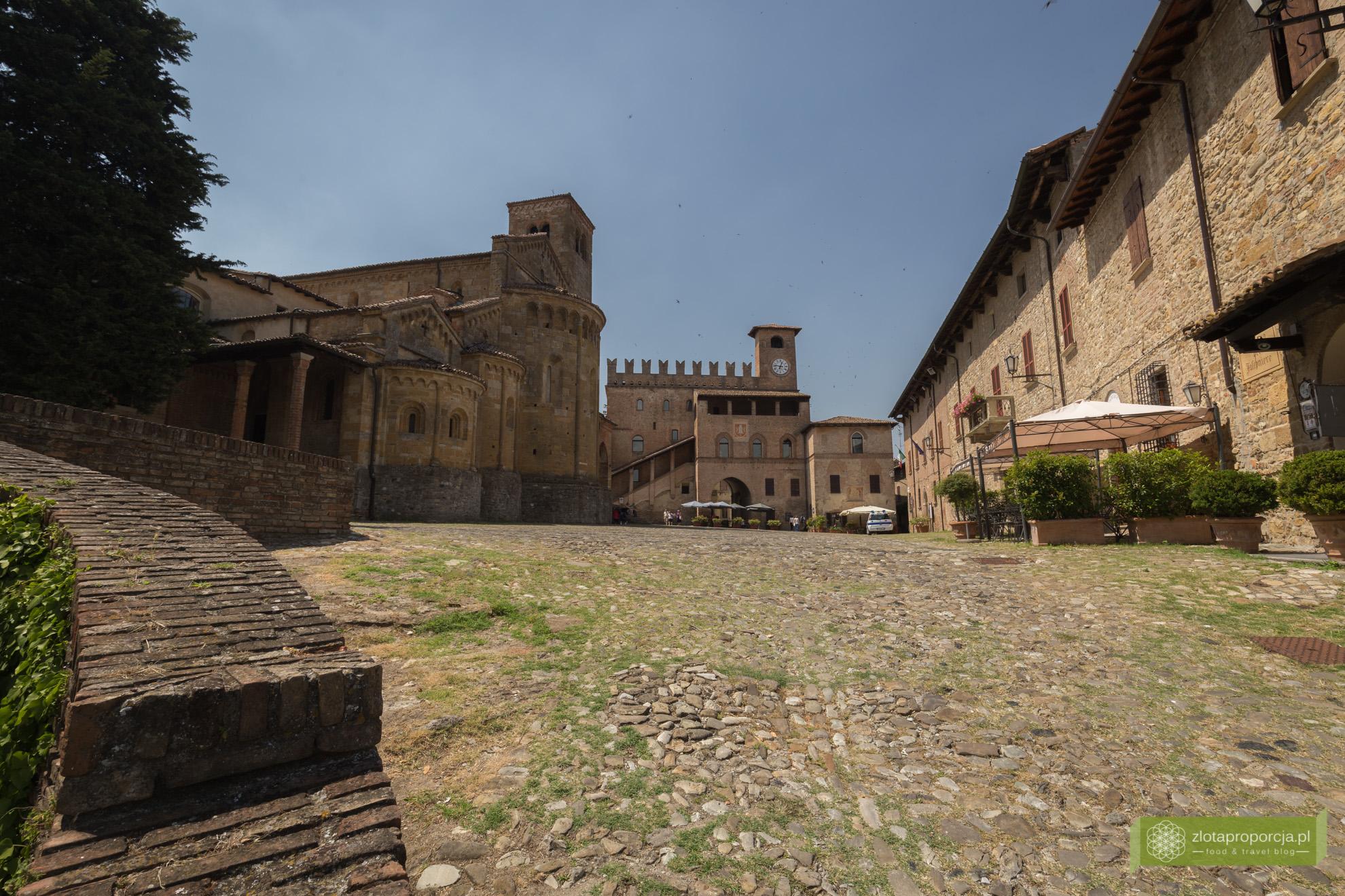 Castell'Arquato, zamki, Piacenza, Emilia Romania