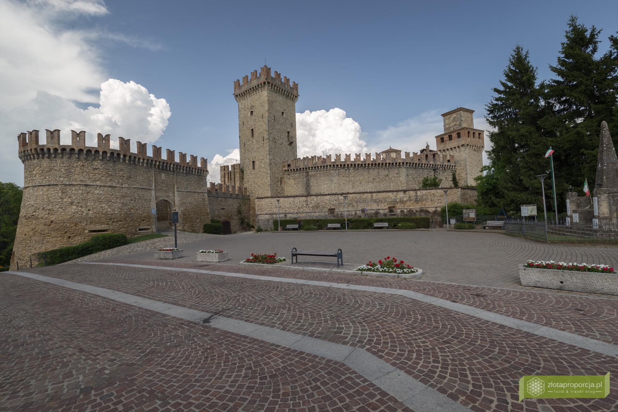 Castello di Vigoleno, zamki, Piacenza, Emilia Romania