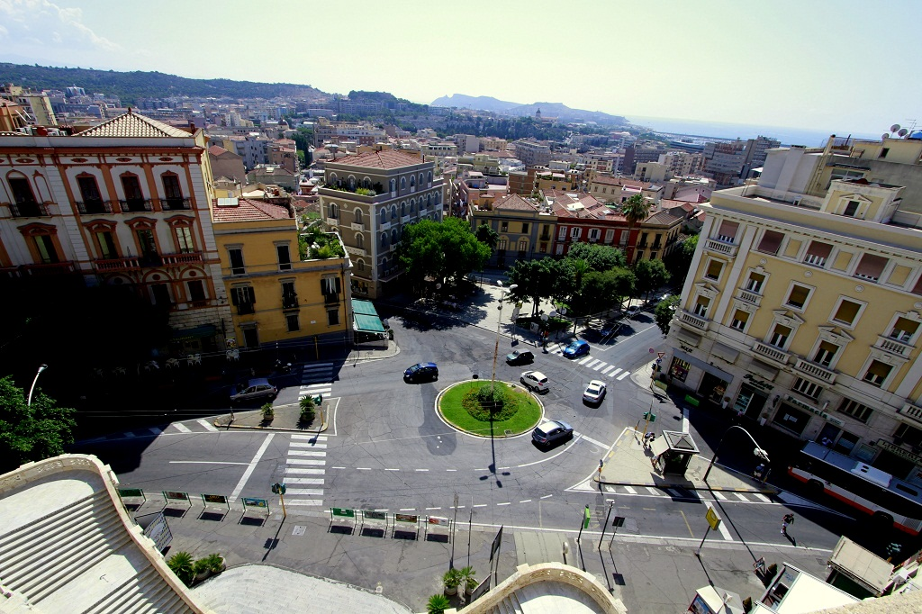 widok z Bastione San Remy