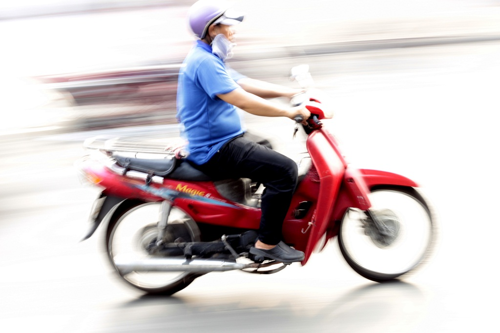 wietnamski skuter