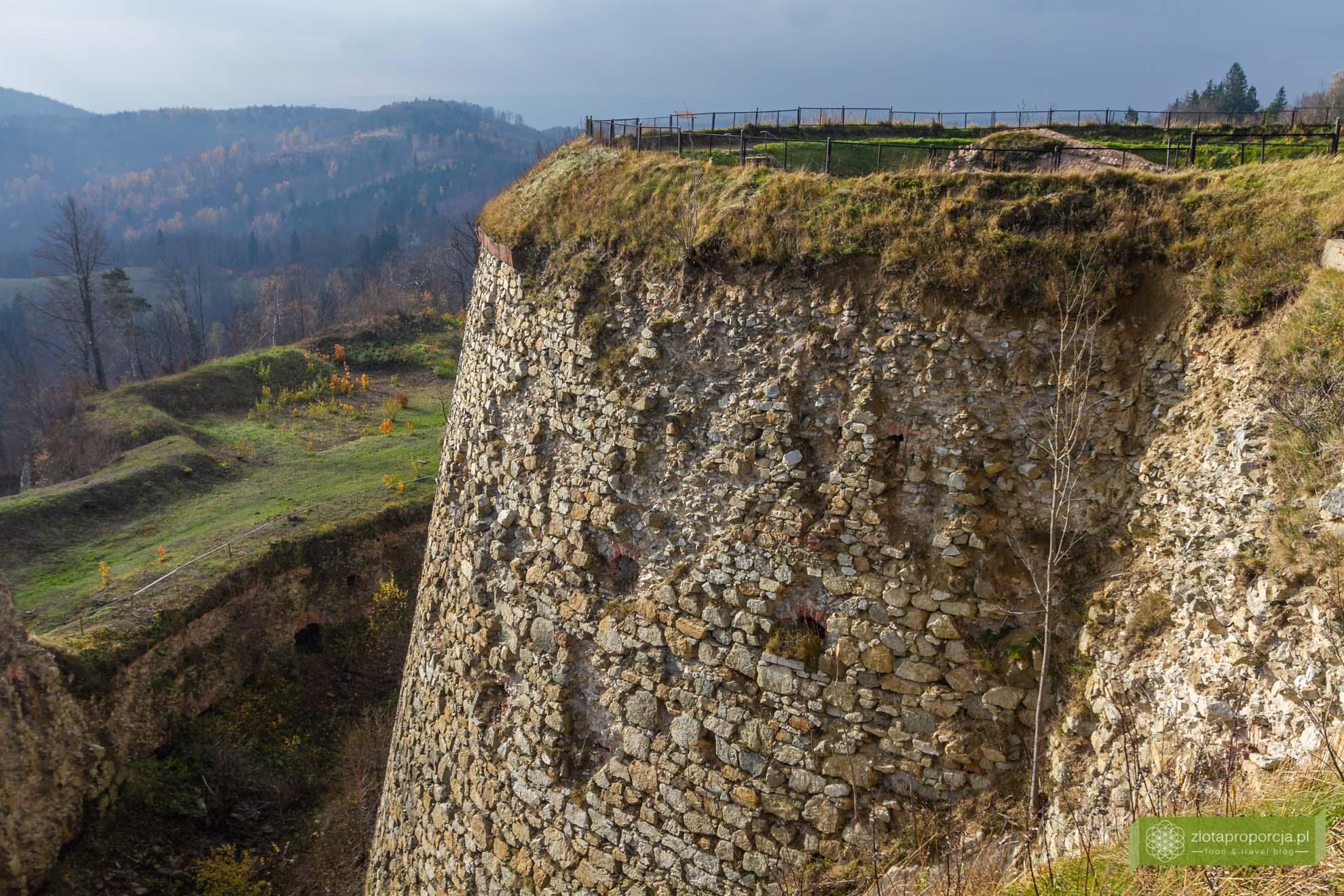 Srebrna Góra; Góry Sowie; Srebrna Góra w Górach Sowich; największa górska twierdza w Europie;