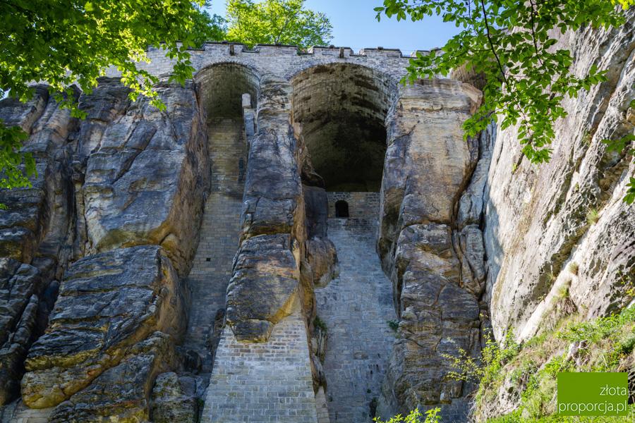 Bastei_5943, TwierdzaKönigstein , Saksońska Szwajcaria, Saksonia, atrakcje Saksonii