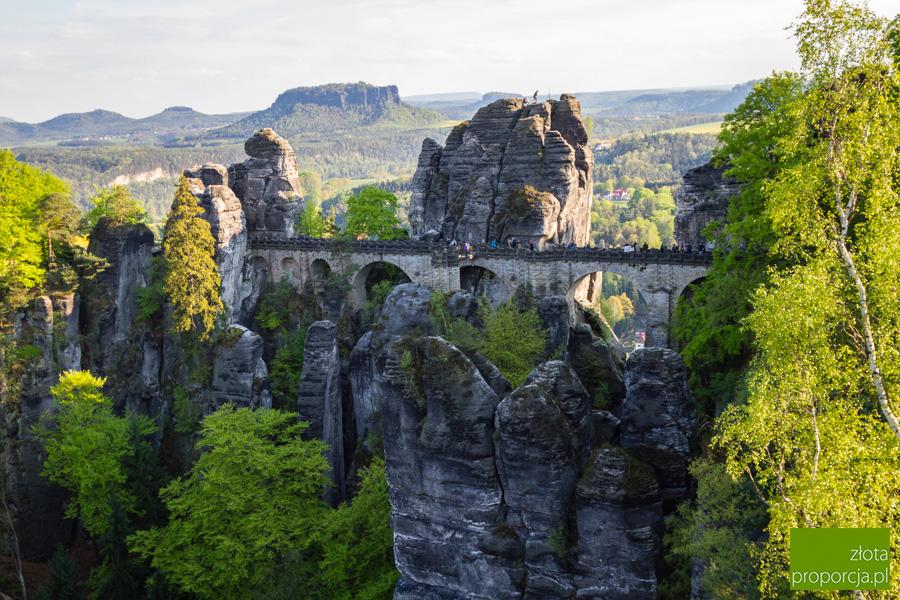 Bastei_6026, most Bastei, Saksońska Szwajcaria, Saksonia, atrakcje Saksonii, miasta skalne Niemczech