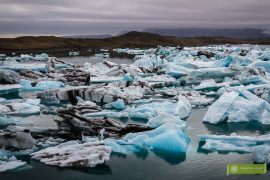 jokulsarlon lodowa laguna, jökulsárlón islandia; laguna lodowa islandia, atrakcje islandia, islandia; Fjallsárlón, laguna lodowa Fjallsárlón;