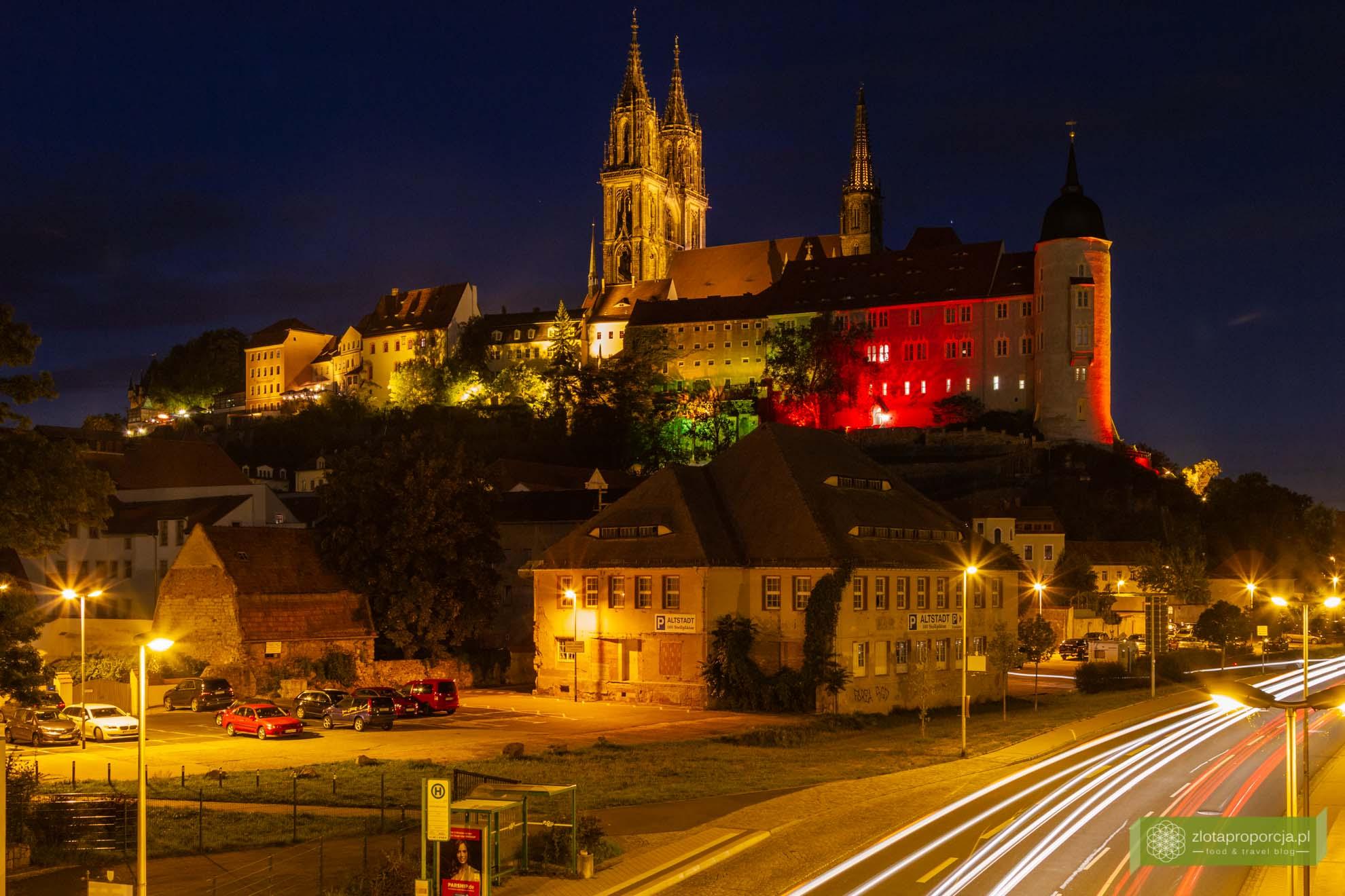Miśnia, Saksonia, atrakcje Saksonii; Miśnia zamek; zamek Albrechtsburg w Miśni;