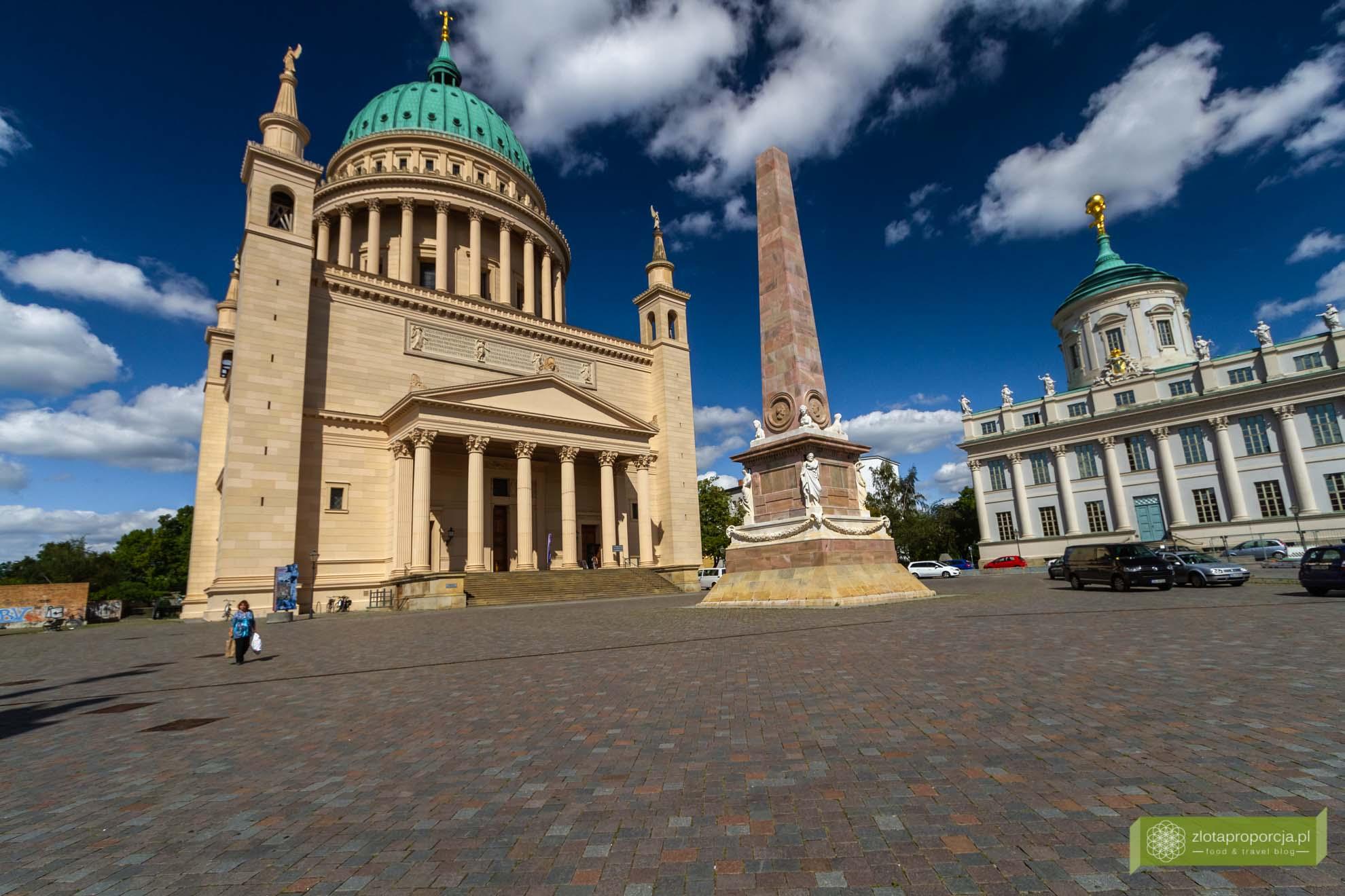Poczdam, atrakcje Poczdamu, Brandenburgia, atrakcje Brandenburgii;