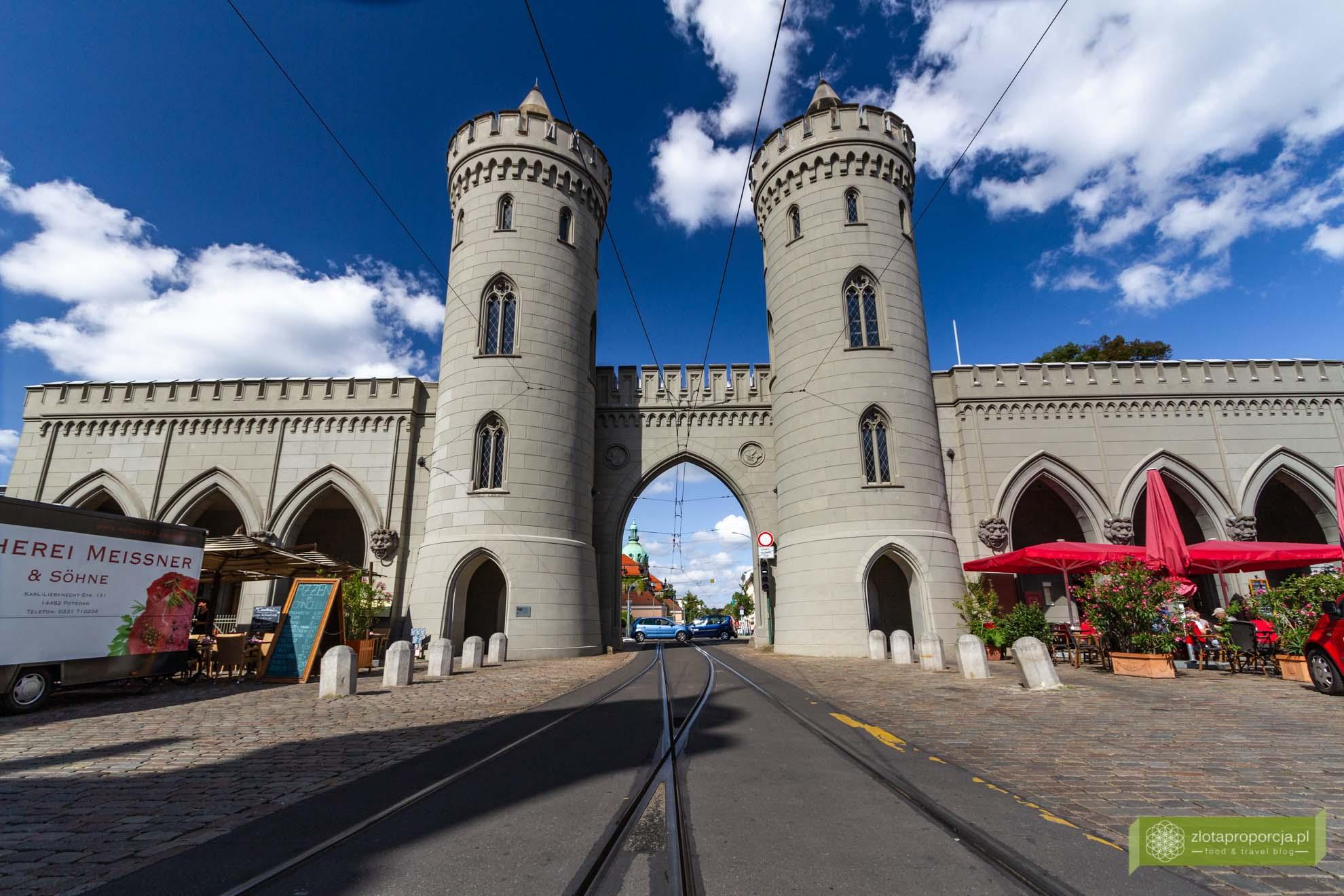 Poczdam, atrakcje Poczdamu, Brandenburgia, atrakcje Brandenburgii, Nauener Tor