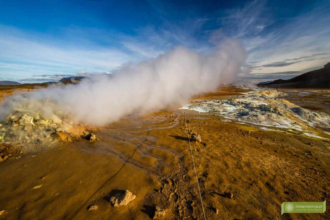 Hverir, Obszar geotermalny Hverir, Islandia, Islandia atrakcje, Islandia ciekawe miejsca