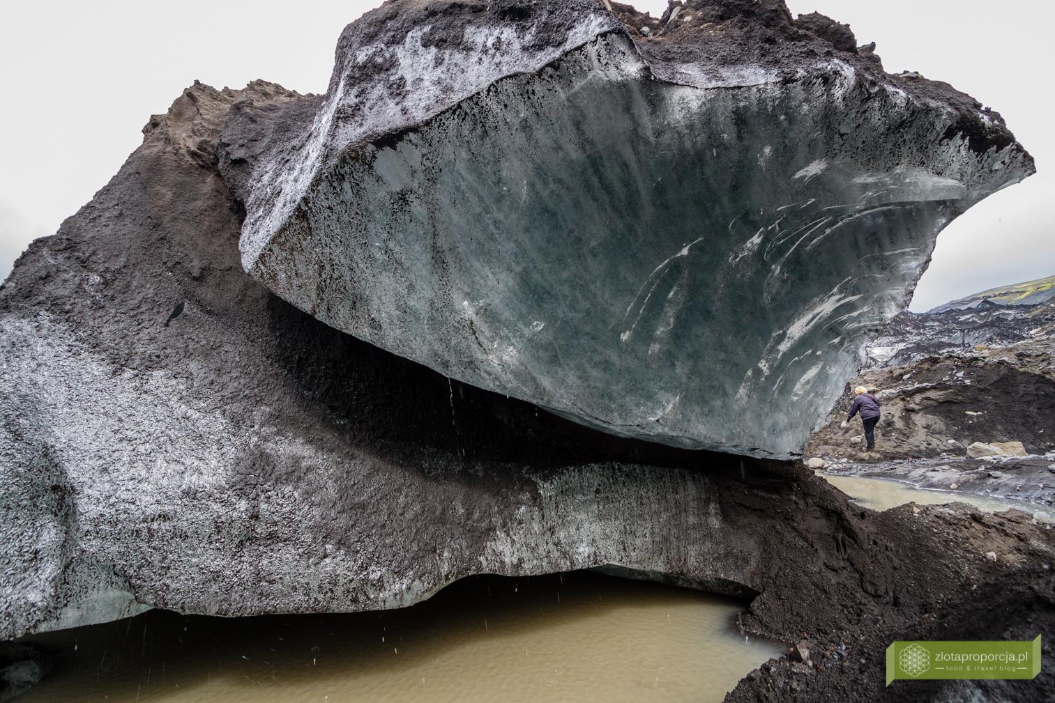 lodowiec Sólheimajökull, lodowce na Islandii, Południowo-zachodnia Islandia, Islandia, Islandia atrakcje, Islandia ciekawe miejsca
