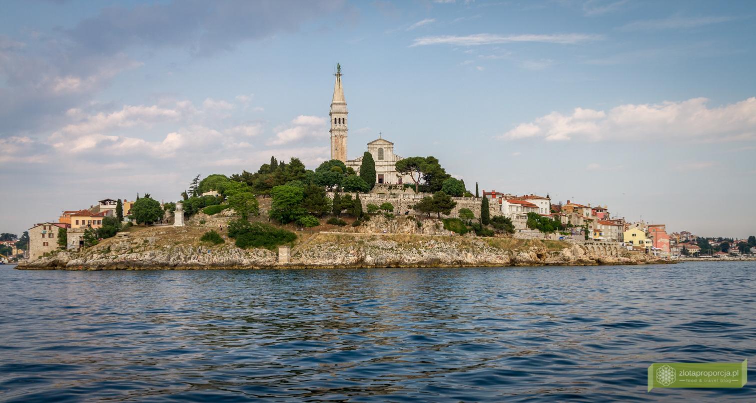 Rovinj, Istria, Chorwacja, atrakcje Istrii, kościół św. Eufemii w Rovinj