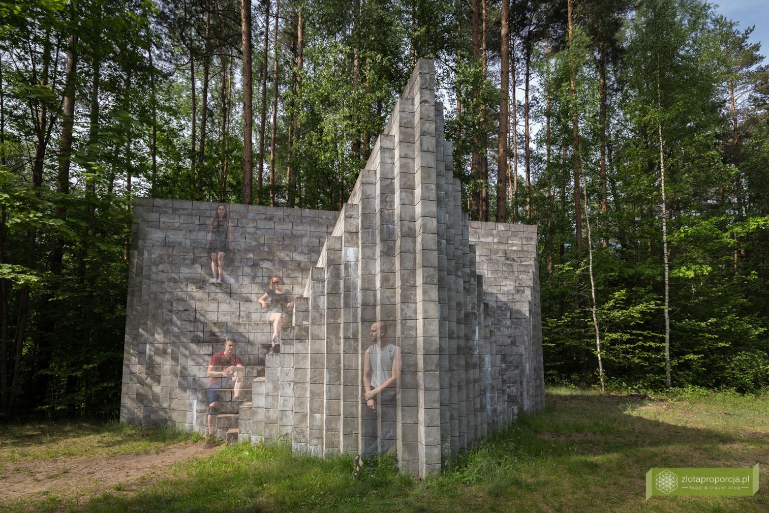 Park Europy, Wilno, okolice Wilna, Litwa, atrakcje Litwy, rzeźby, Sol de Witt