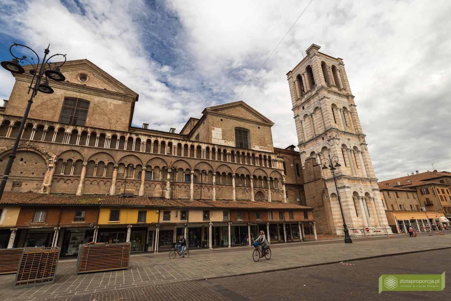 Katedra w Ferrarze, Ferrara, Emilia Romania