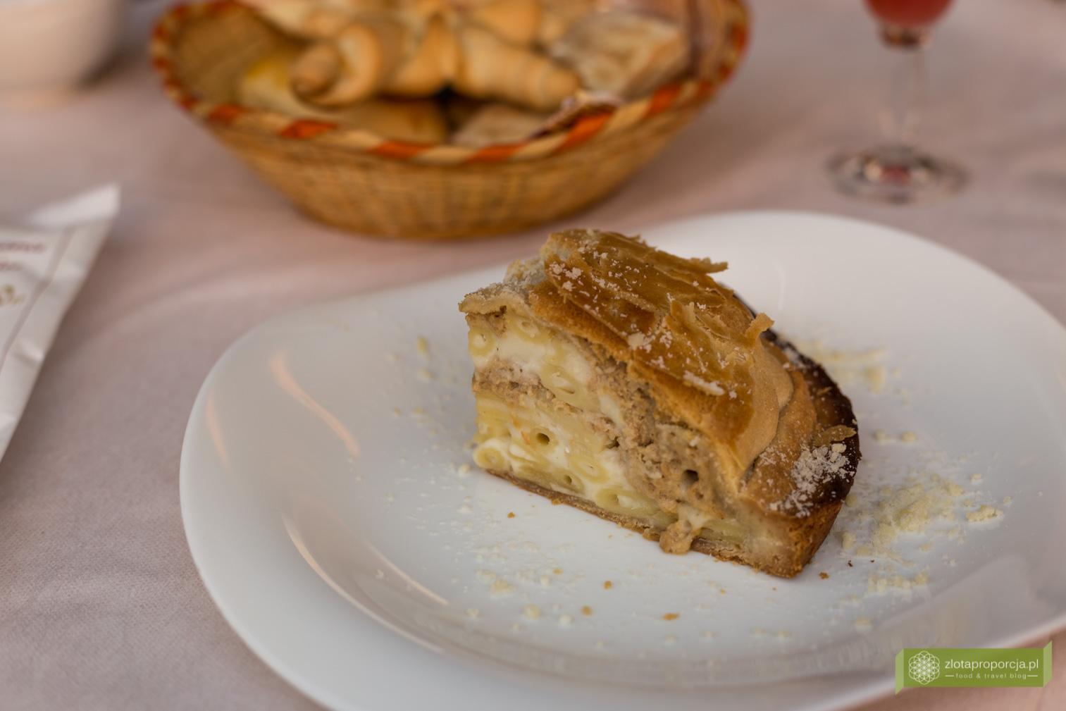 Pasticcio ferrarese, Ferrara, Emilia Romania, kuchnia Ferrary, co zjeść w Ferrarze, co zjeść w Emilii Romanii