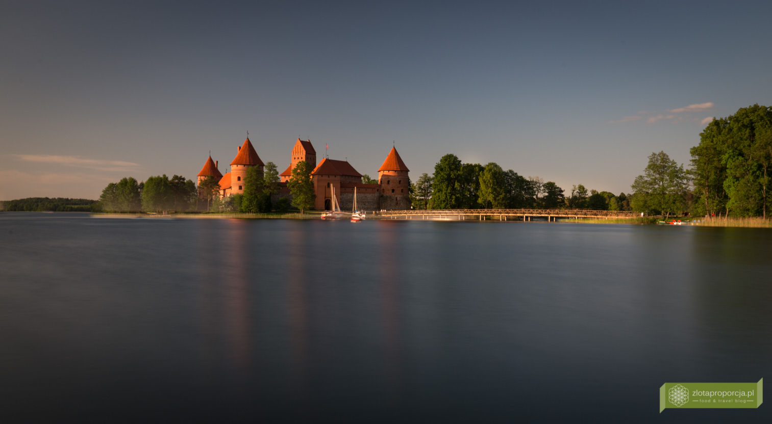 Zamek w Trokach, Troki, okolice Wilna, Litwa, atrakcje Litwy, Zamek Trocki
