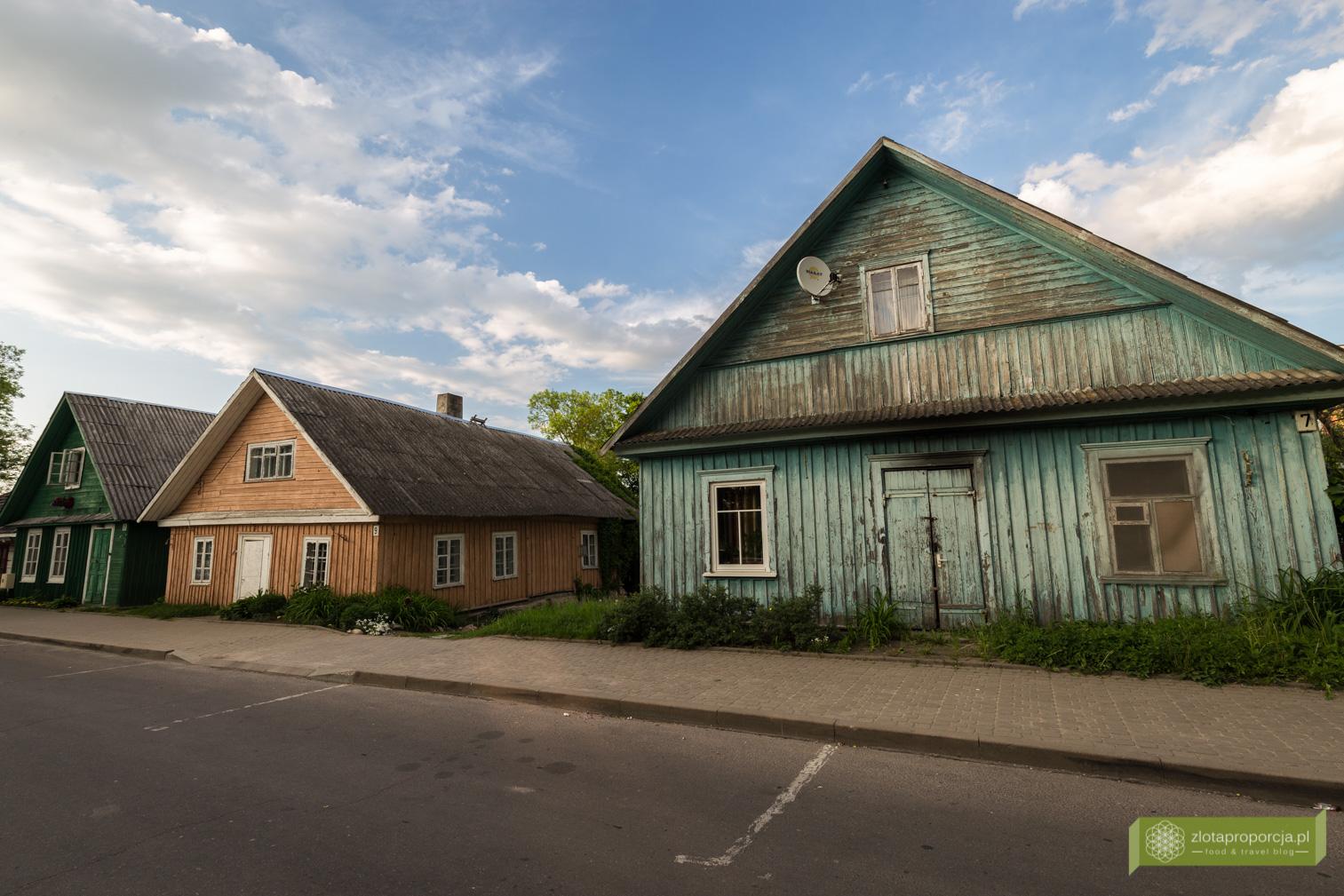 Karaimska chata, Karaimi, Troki, okolice Wilna, Litwa, atrakcje Litwy