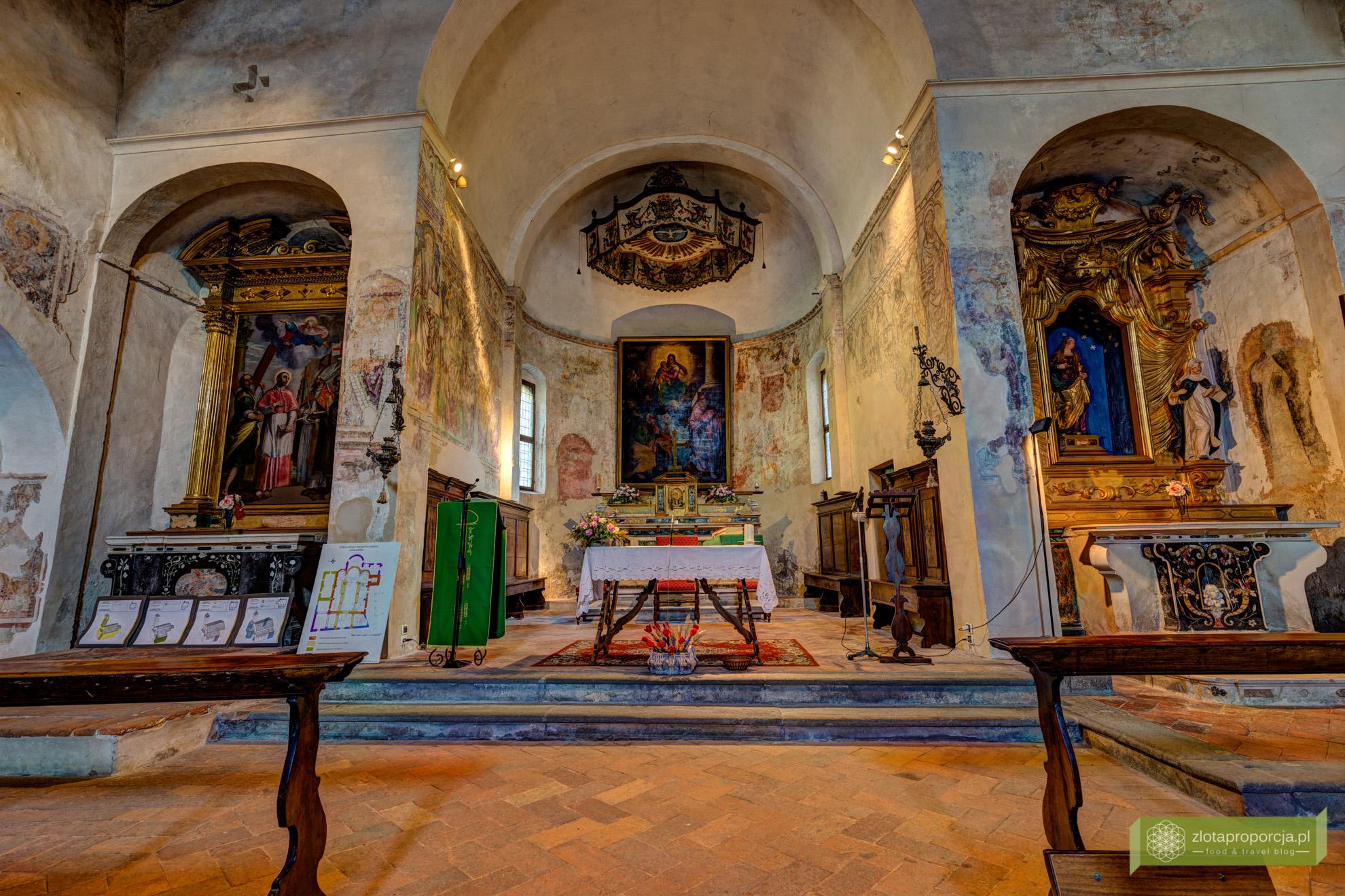 Klasztor San Pietro in Lamosa, jezioro Iseo
