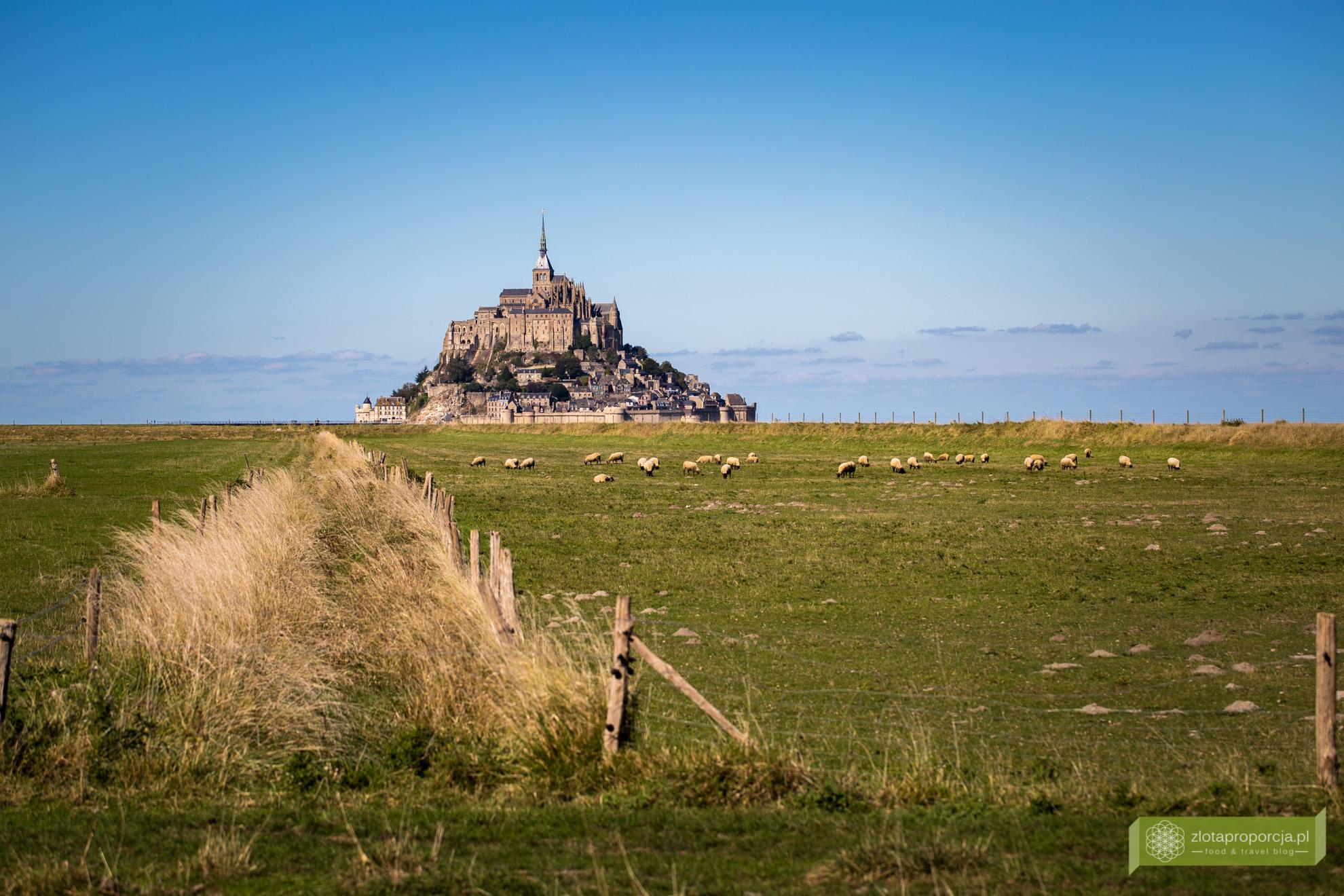 Mont Saint-Michel, opactwo Mont Saint-Michel, Normandia, atrakcje Normandii