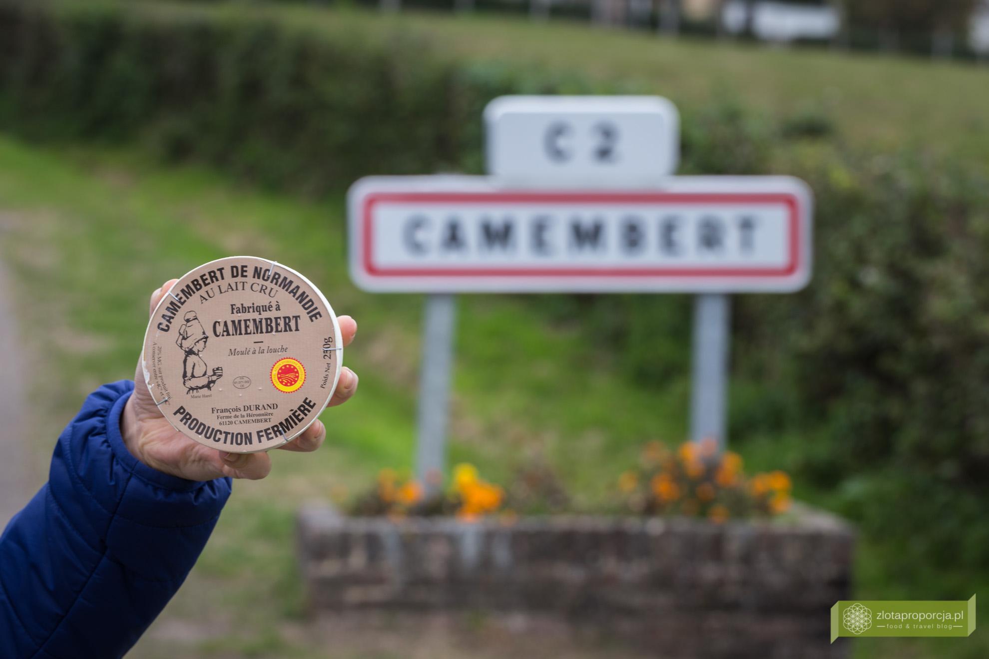 Camembert, Normandia
