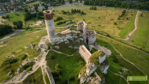 Zamek Olsztyn, Jura, Szlak Orlich Gniazd