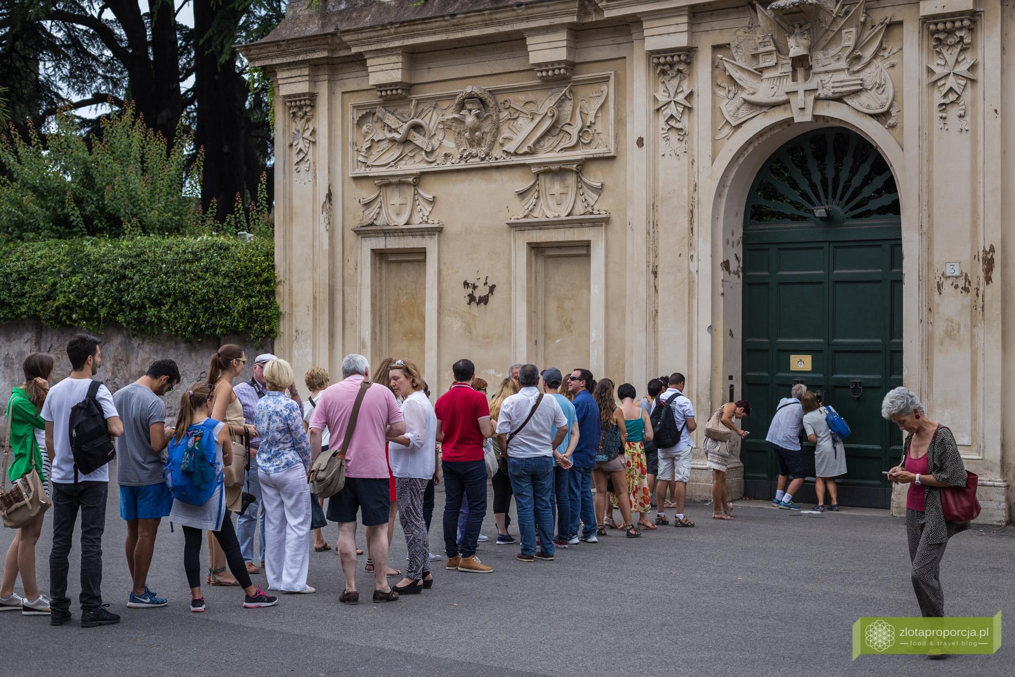 Rzym, Awentyn, Rzym przez dziurkę od klucza