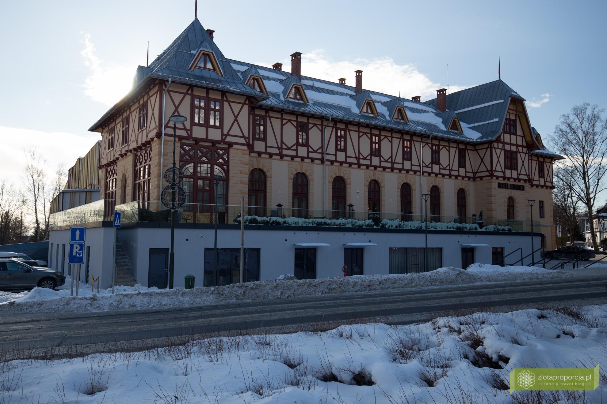 Tatrzańska Łomnica, Hotel Łomnica