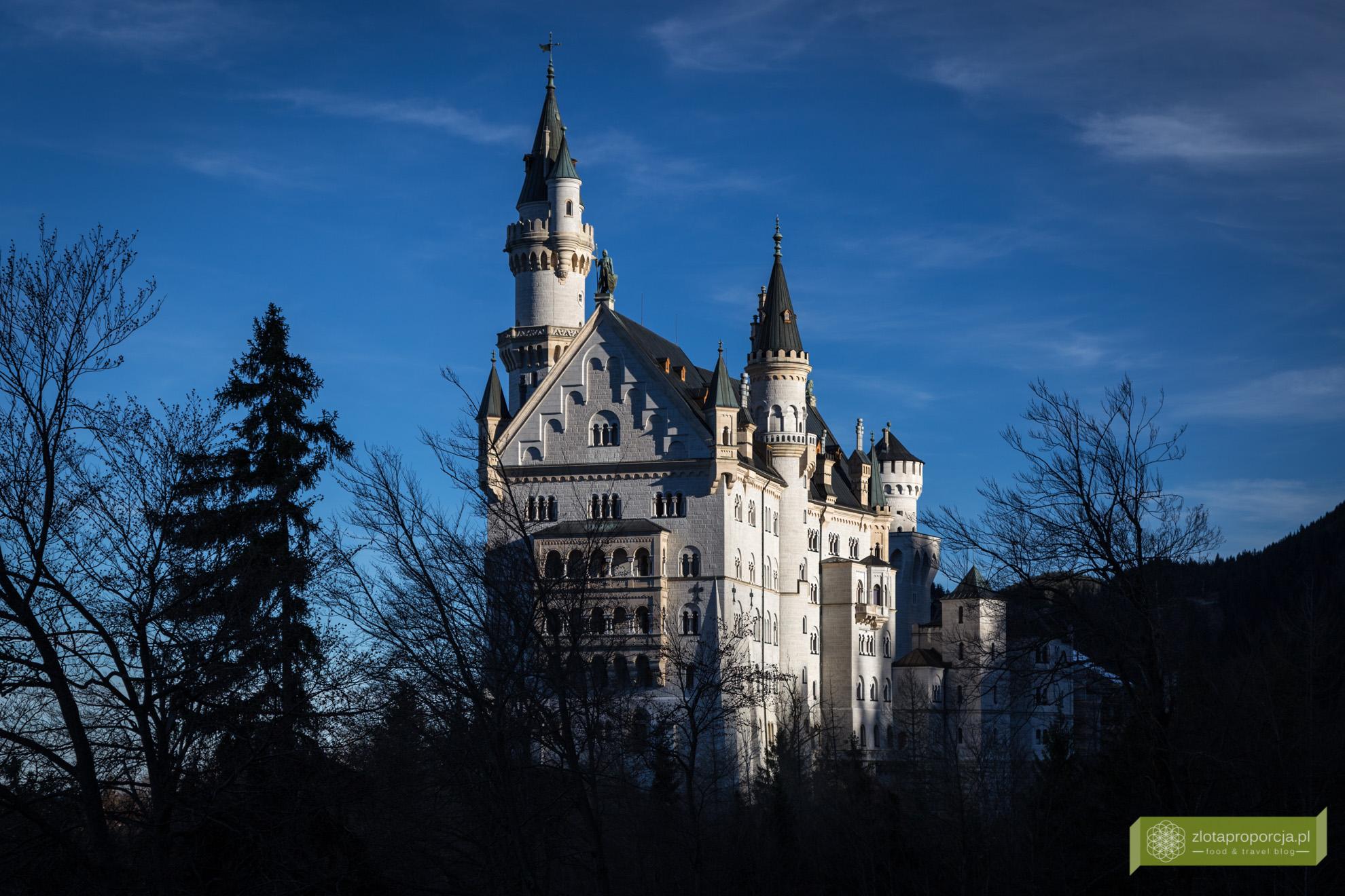 Zamek Neuschwanstein, Bawaria, atrakcje Bawarii