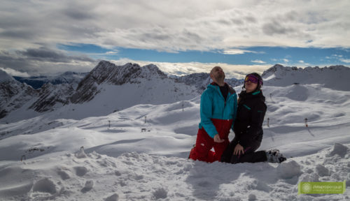 Zugspitze, Alpy Bawarskie, Garmisch-Partenkirchen