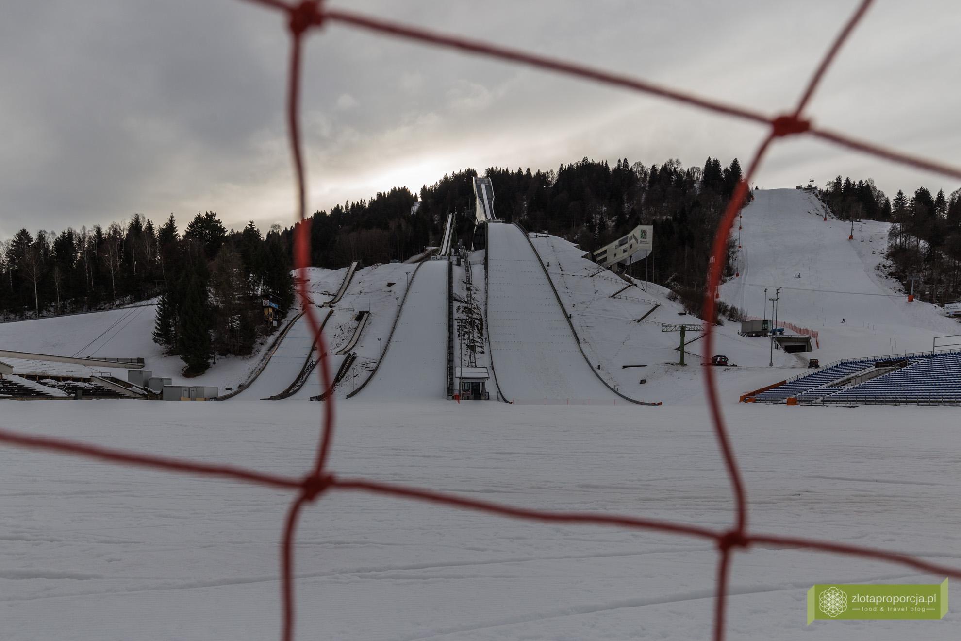 Garmisch-Partenkirchen, Bawaria, skocznia Große Olympiaschanze