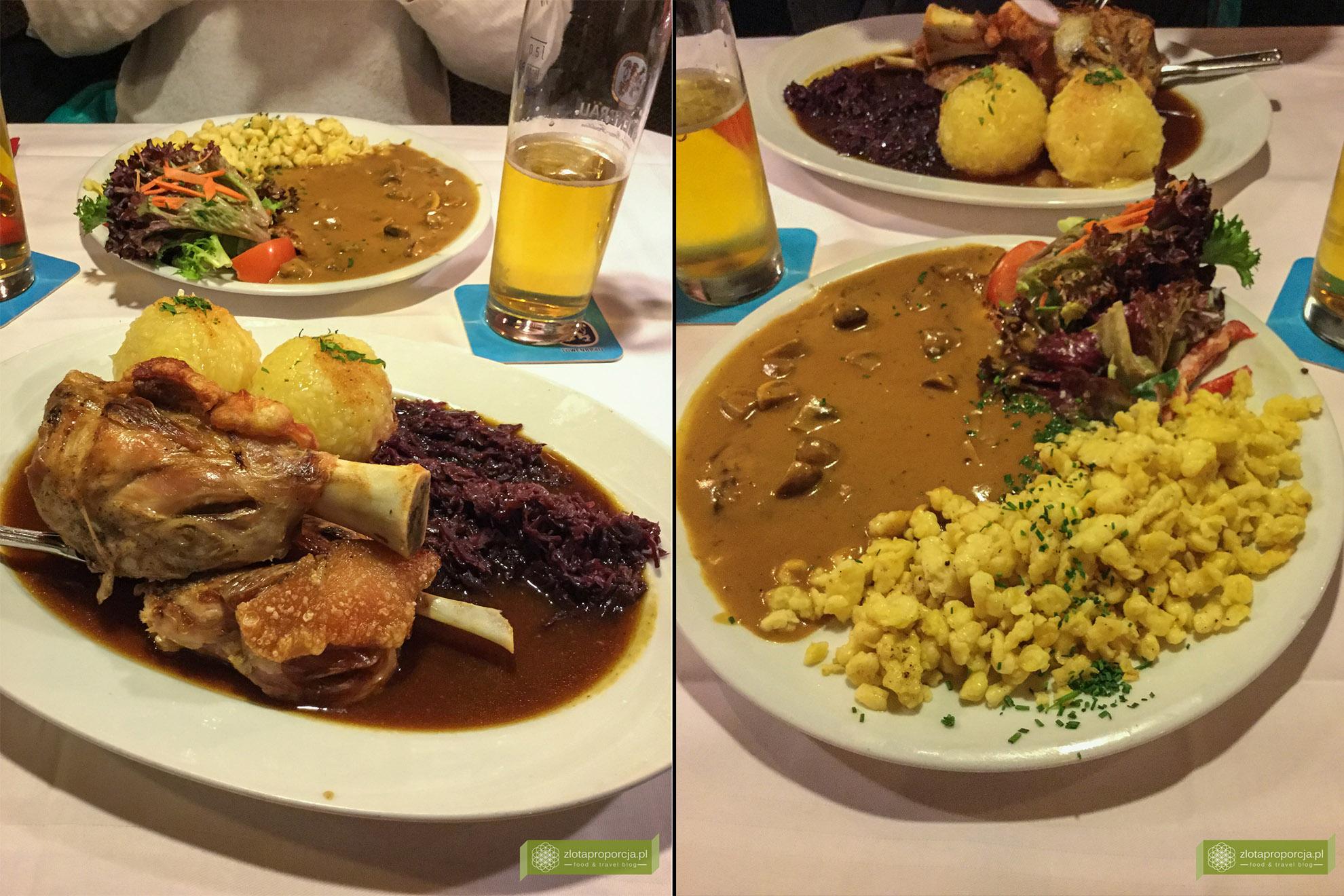 Garmisch-Partenkirchen, Bawaria, kuchnia Bawarii