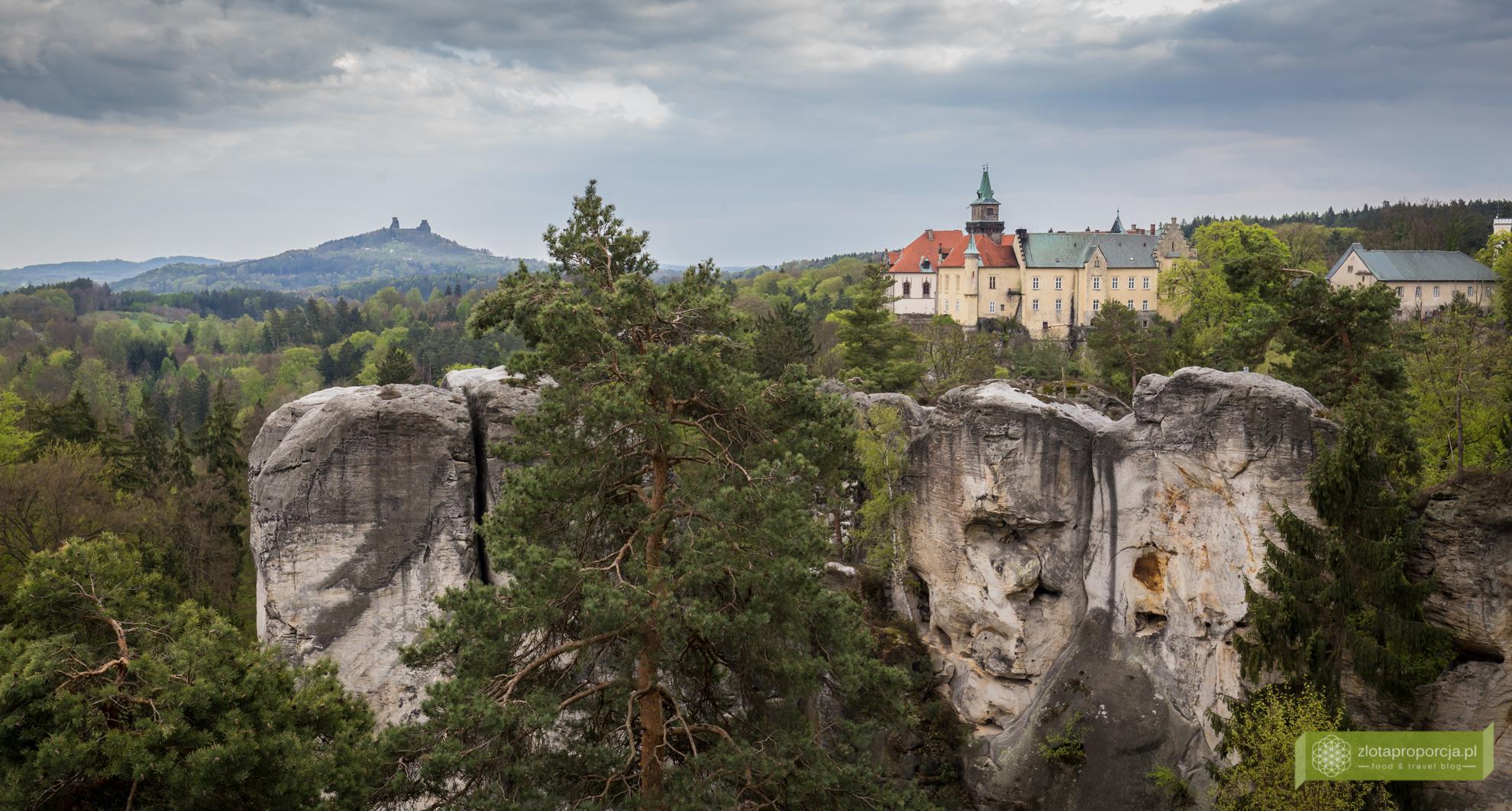 Czeski Raj, Czeski Raj zdjęcia, Czeski Raj miasta skalne, Hruboskalsko, zamek Hruba Skala, Mariańska Vyhlidka