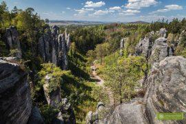 Czeski Raj, Czechy, skalne miasta w Czechach, Prachowskie Skały