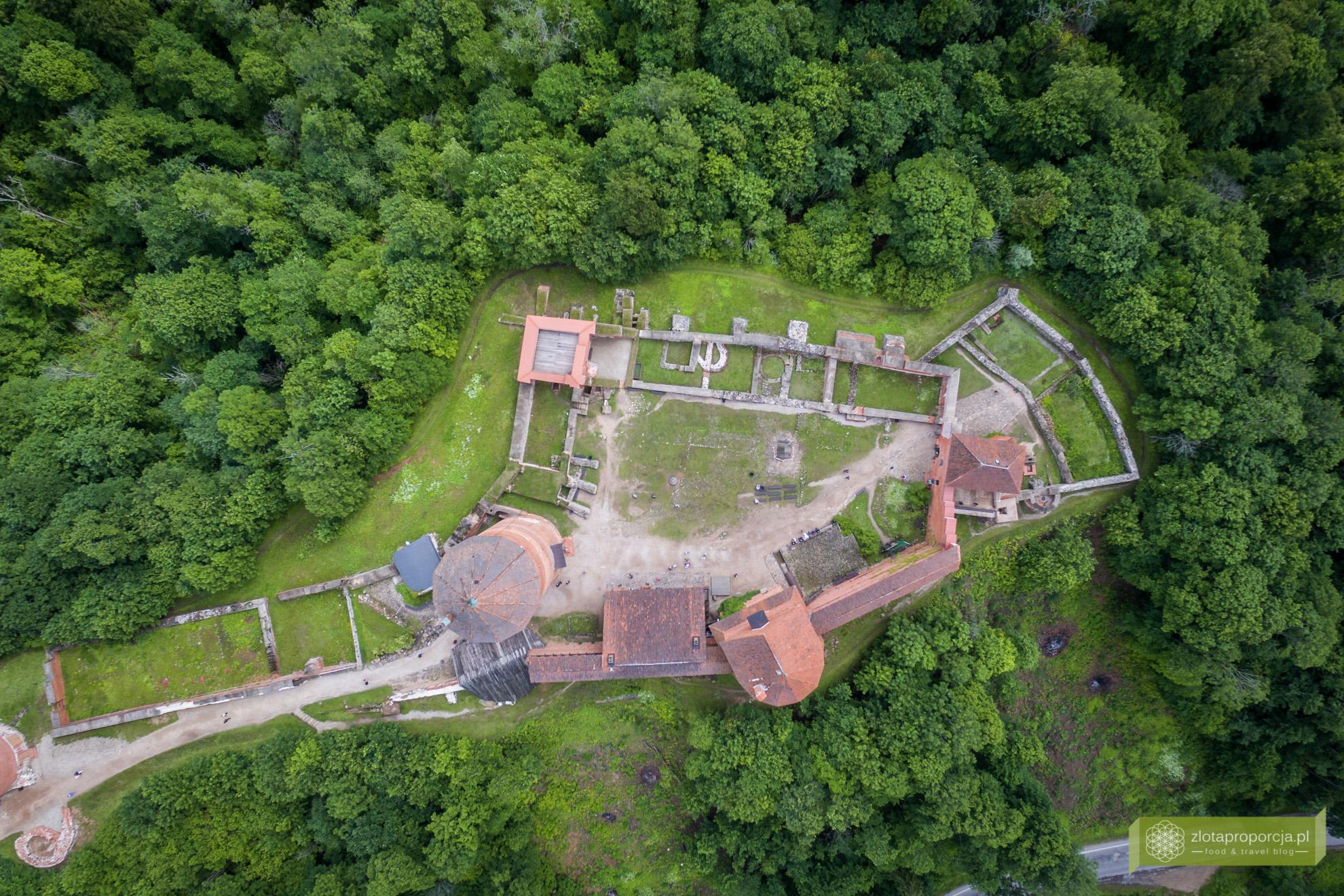 Łotwa, Park Narodowy Gauja, atrakcje Łotwy, Sigulda, zamek Turaida