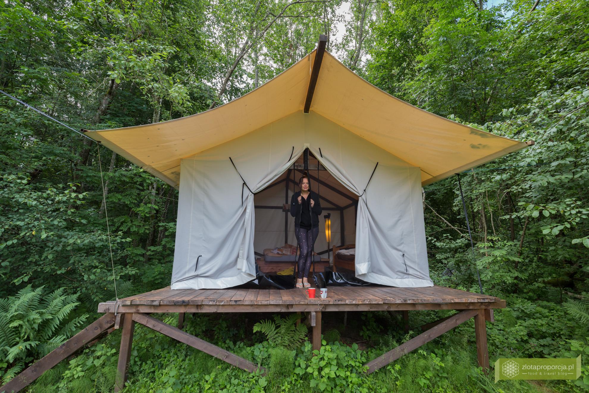 Łotwa, Park Narodowy Gauja, atrakcje Łotwy, Sigulda Glempings Klaukas