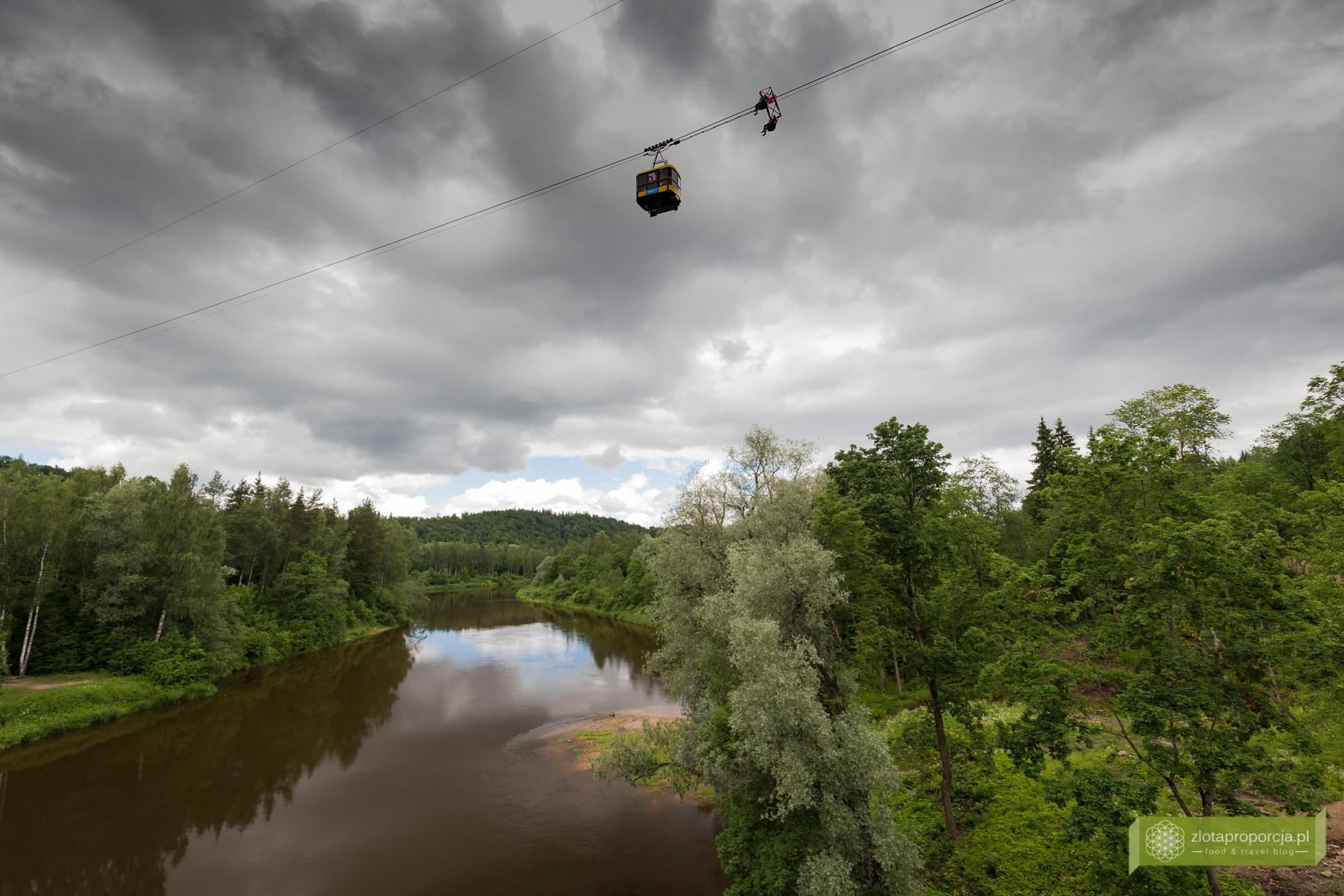 Łotwa, Park Narodowy Gauja, atrakcje Łotwy, Sigulda, Krimulda