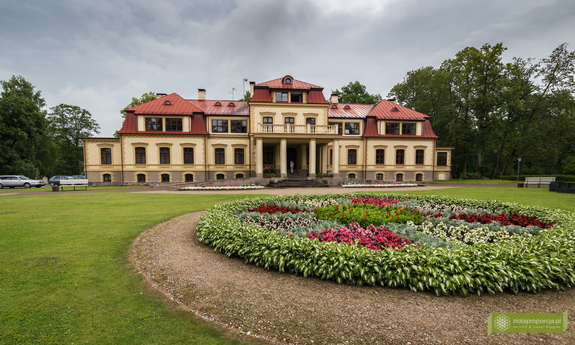 Łotwa, Park Narodowy Gauja, atrakcje Łotwy, Pałac Dikli