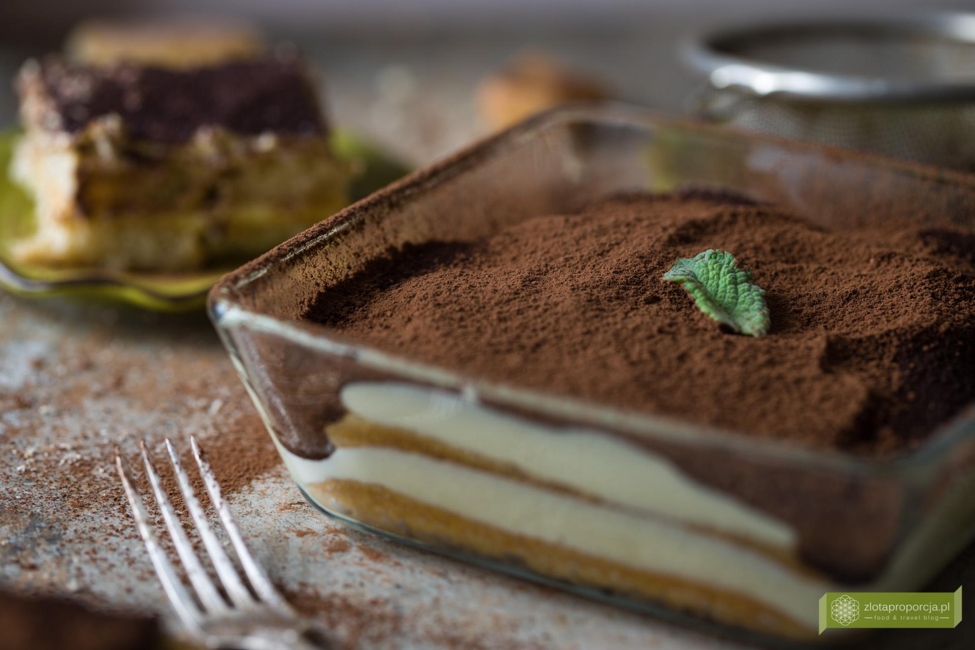 tiramisu, przepis na tiramisu, kuchnia włoska, włoskie desery