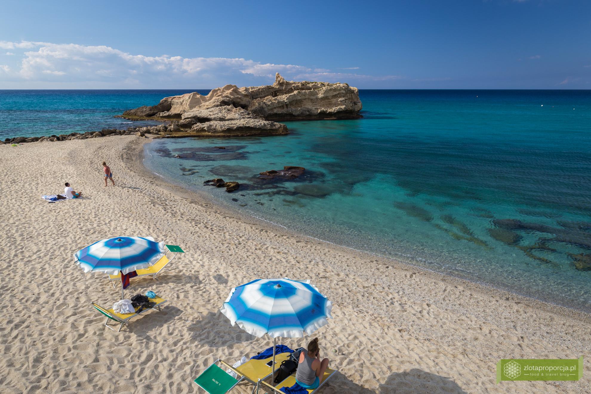 Kalabria, plaże Kalabrii, Capo Vaticano, plaże Capo Vaticano, Baia di Riaci