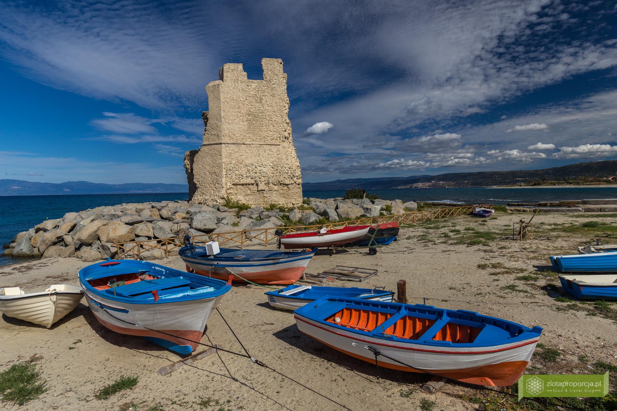 Kalabria, plaże Kalabrii, Capo Vaticano, plaże Capo Vaticano,Briatico, La Rochetta