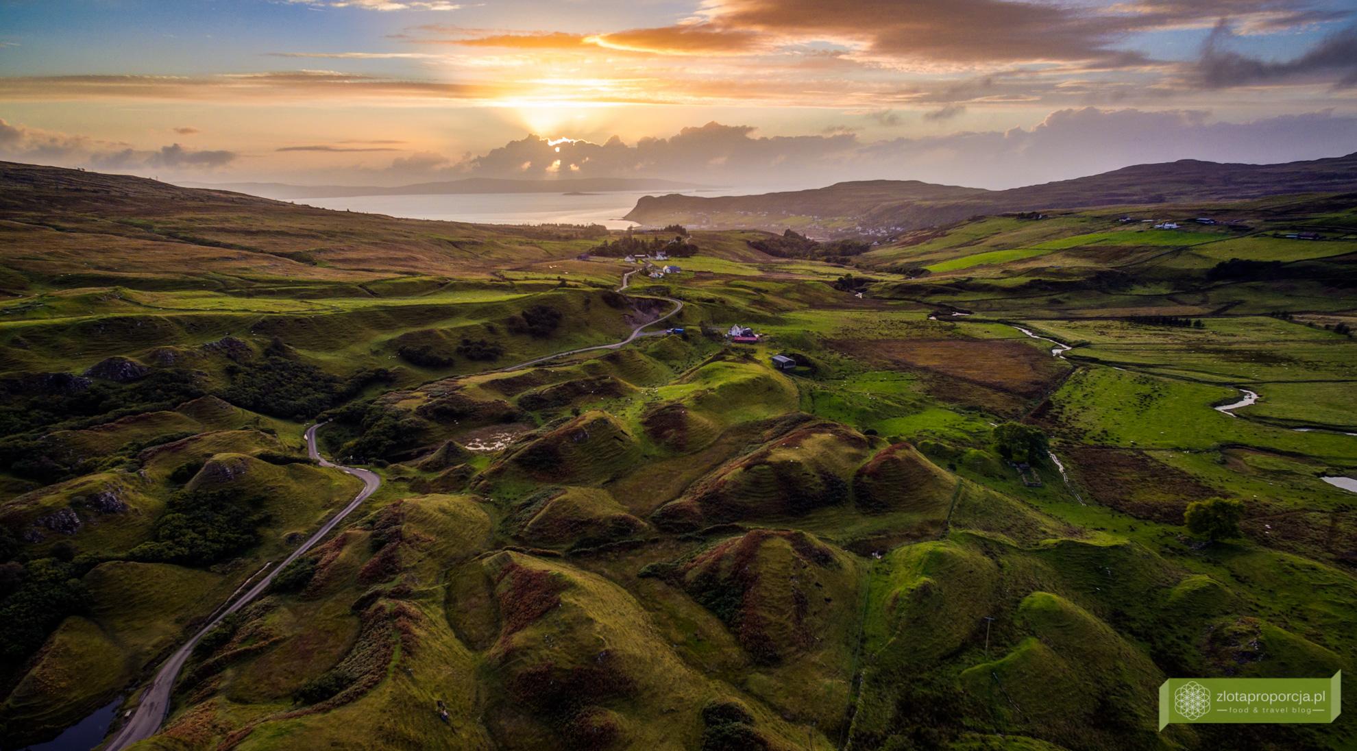 Fairy Glen, Isle of Skye, Wyspa Skye, atrakcje Szkocji, atrakcje Wyspy Skye