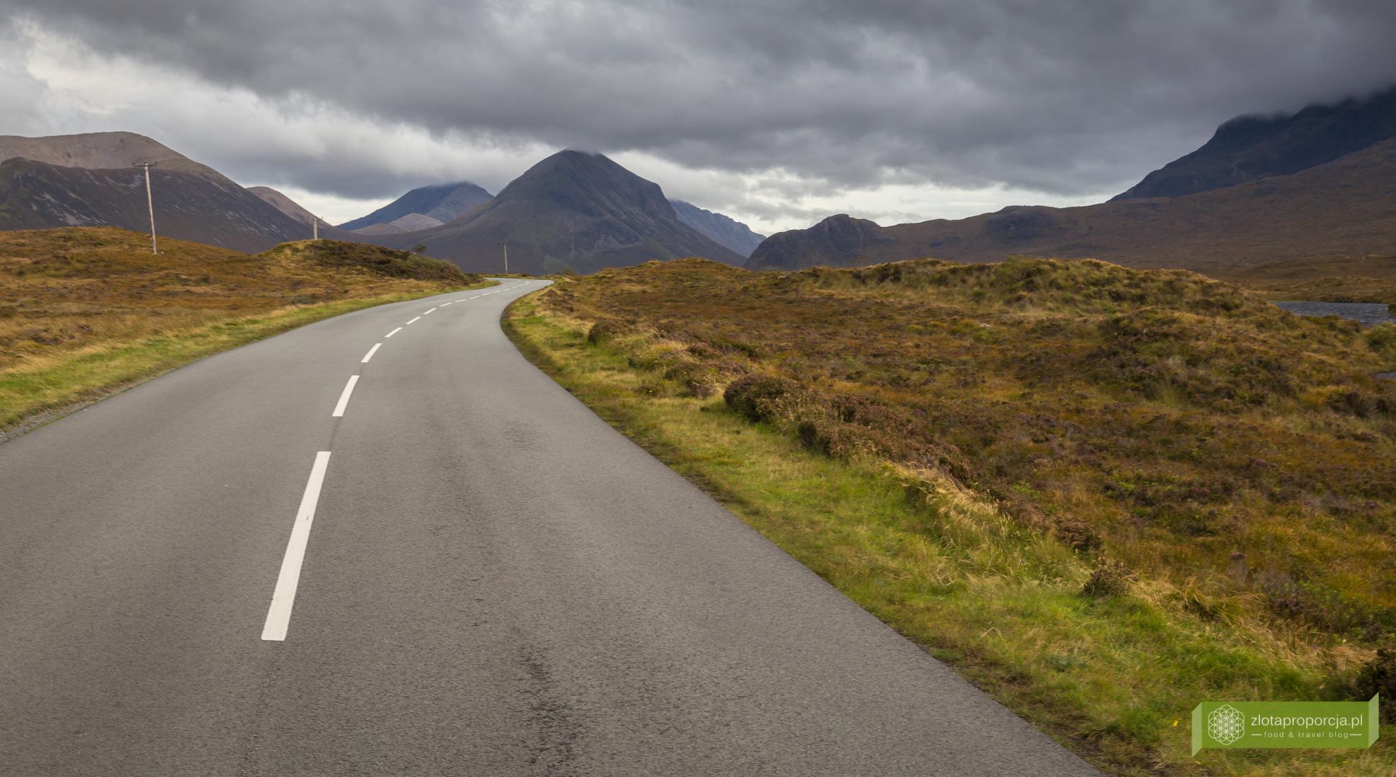 Góry Cuillin, Isle of Skye, Wyspa Skye, atrakcje Szkocji, atrakcje Wyspy Skye