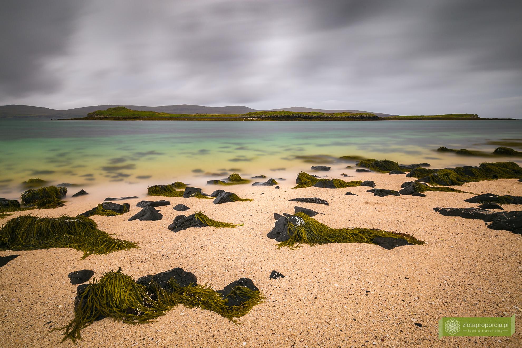 Coral Beach,, Isle of Skye, Wyspa Skye, atrakcje Szkocji, atrakcje Wyspy Skye, plaża w Szkocji