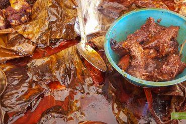 Cochinita pibil, kuchnia Jukatanu, potrawy Jukatanu, kuchnia meksykańska