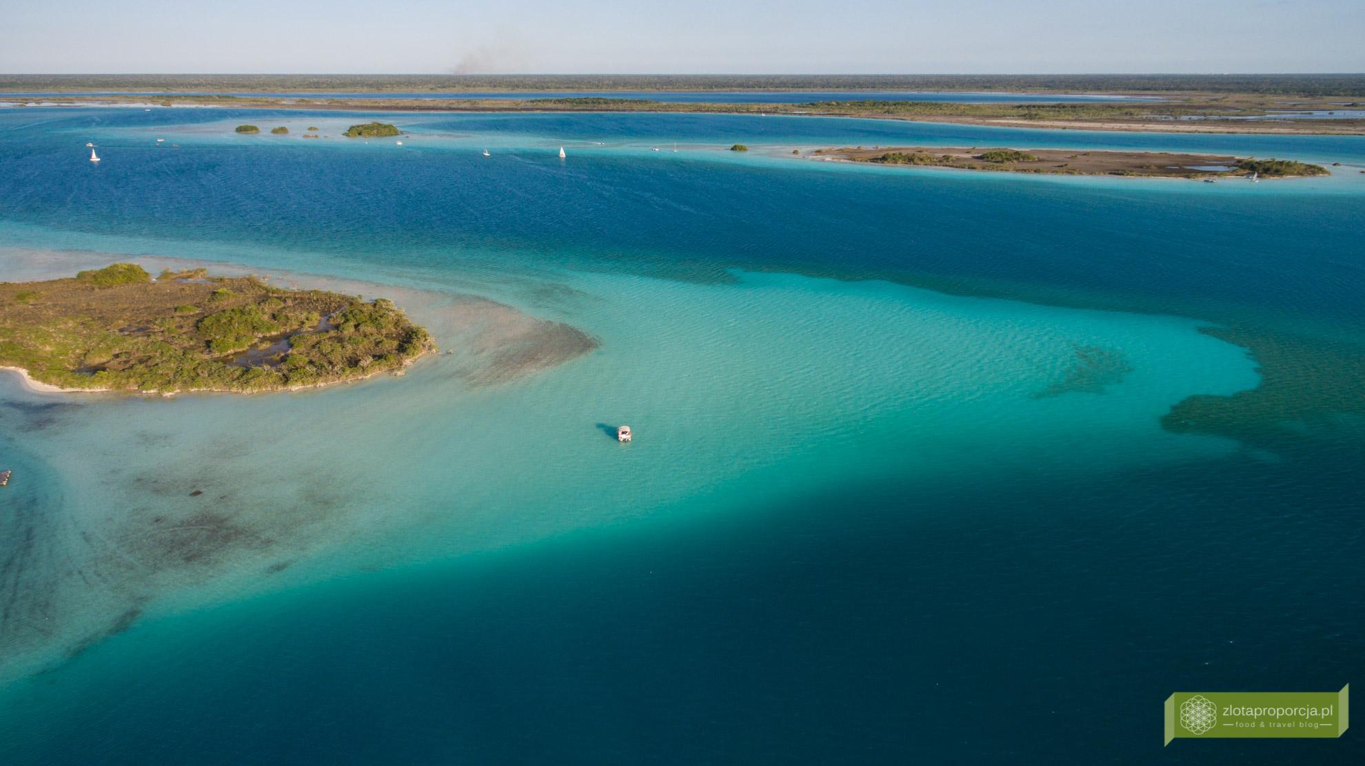 Meksyk, Jukatan, dookoła Jukatanu, atrakcje Jukatanu, Bacalar