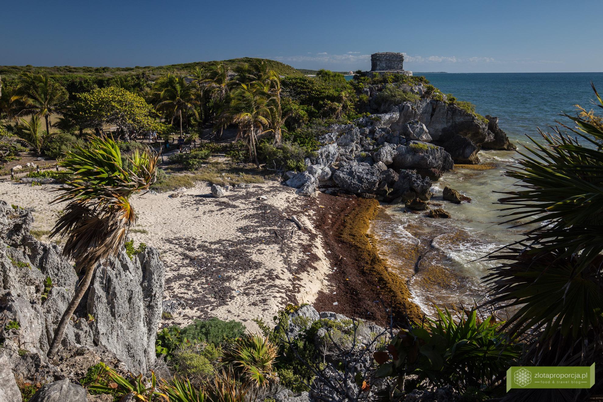 Meksyk, Jukatan, dookoła Jukatanu, atrakcje Jukatanu, Tulum