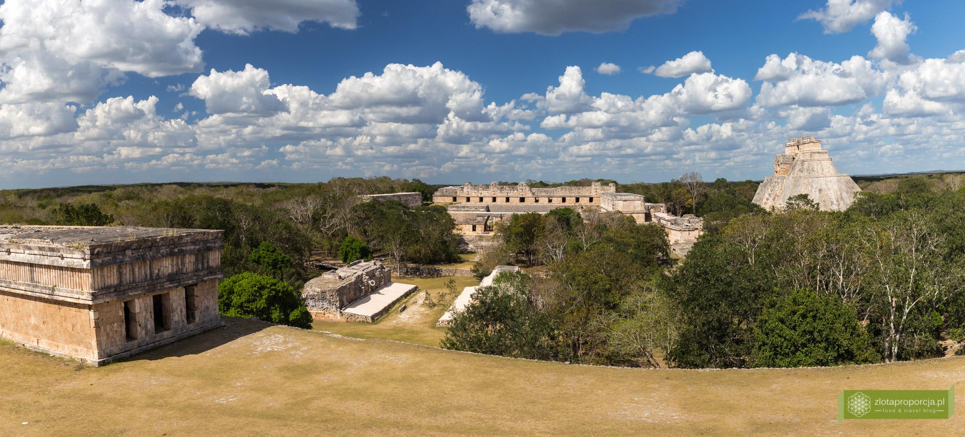 Meksyk, Jukatan, dookoła Jukatanu, atrakcje Jukatanu, Uxmal