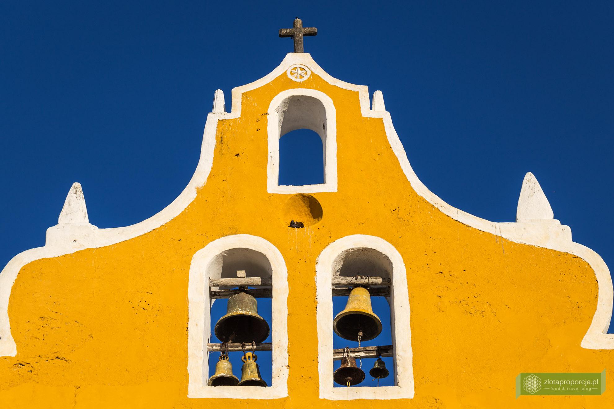 Meksyk, Jukatan, dookoła Jukatanu, atrakcje Jukatanu, Izamal